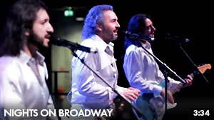 The Italian Bee Gees  - Nights On Broadway